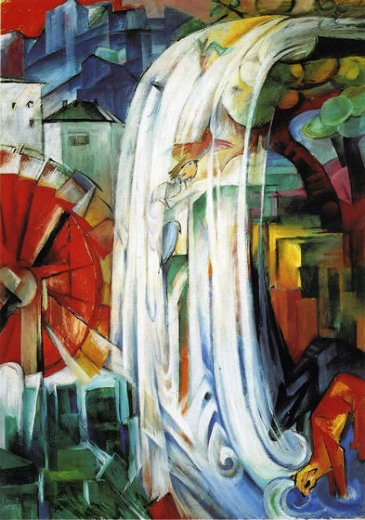 franz marc the enchanted mill paintings