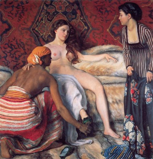 frederic bazille la toilette paintings
