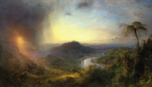 frederic edwin church the vale of st. thomas jamaica painting