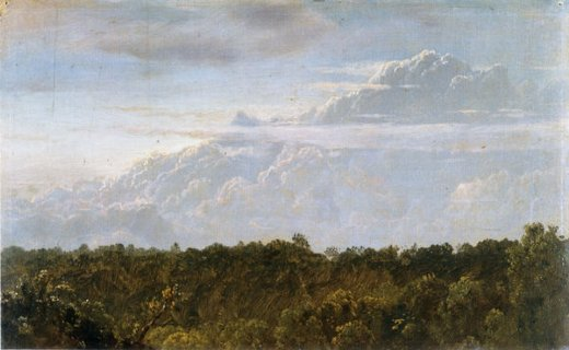 frederic edwin church thunder clouds jamaica paintings