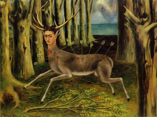 frida kahlo the little deer paintings