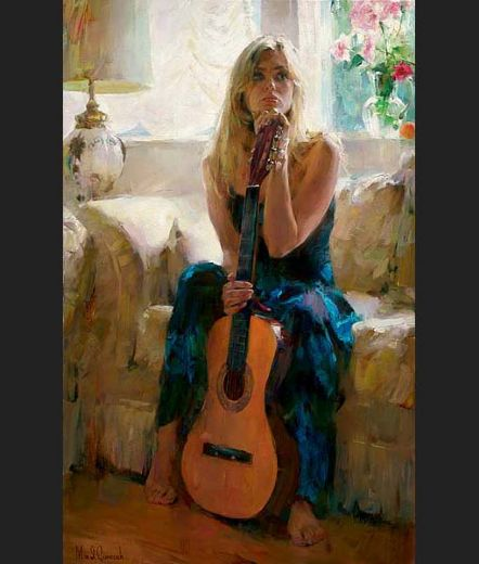 garmash guitar play paintings
