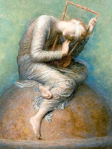 george frederick watts hope paintings