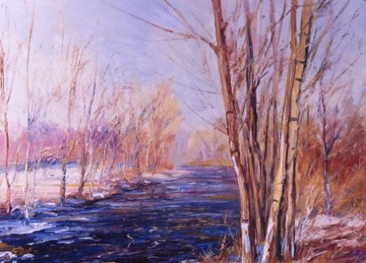george gallo the winter still painting