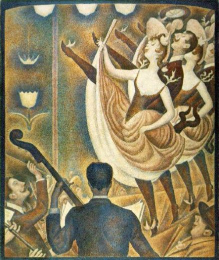 georges seurat le chahut paintings