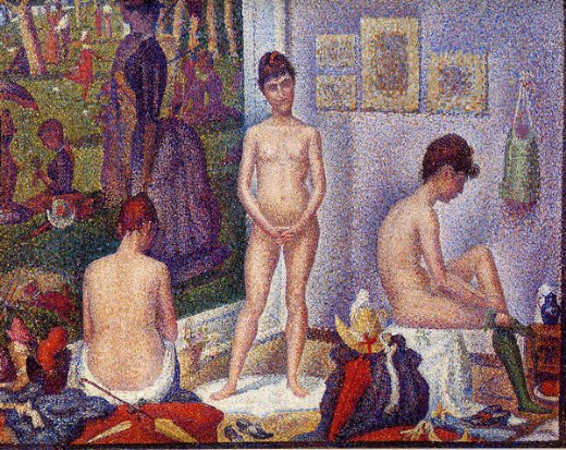 Terrific Georges Seurat Models Small Version Painting 33547 And Georges Largest Home Design Picture Inspirations Pitcheantrous
