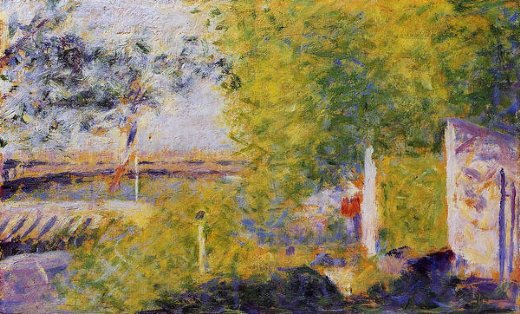 georges seurat the bineau bridge paintings