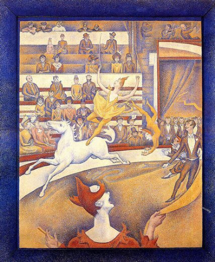 georges seurat the circus painting