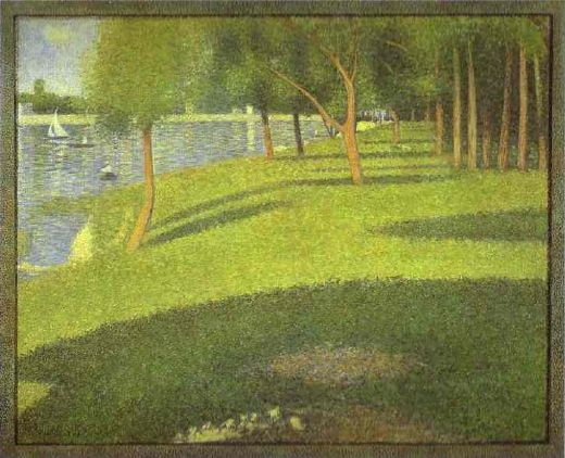 georges seurat the island of la grande jatte paintings