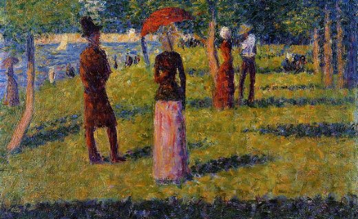 georges seurat the rope paintings