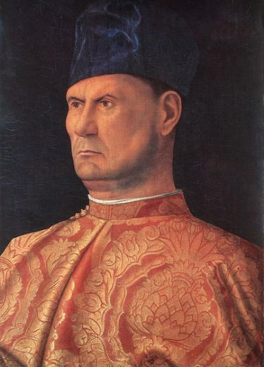 giovanni bellini portrait of a condottiere giovanni emo painting