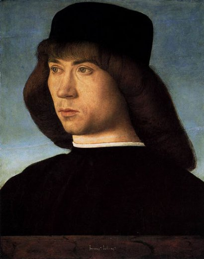 giovanni bellini portrait of a young man ii painting
