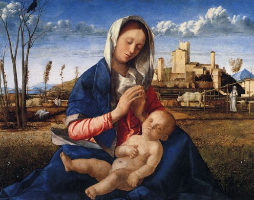 giovanni bellini virgin and child painting