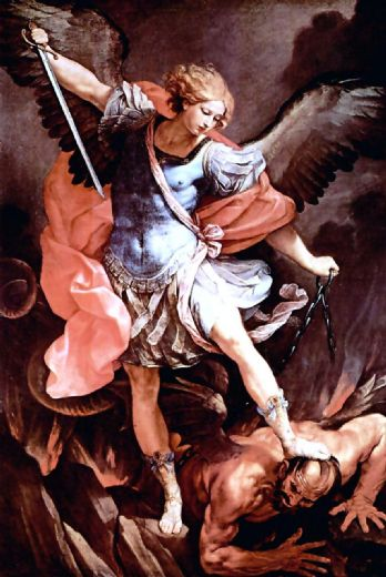 guido reni the archangel michael paintings