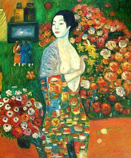 Shopping gustav klimt dancer painting gustav klimt for Gustav klimt original paintings for sale