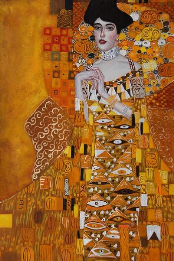 Shopping gustav klimt portrait of adele bloch painting for Gustav klimt original paintings for sale