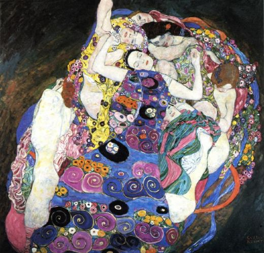 gustav klimt the virgin painting