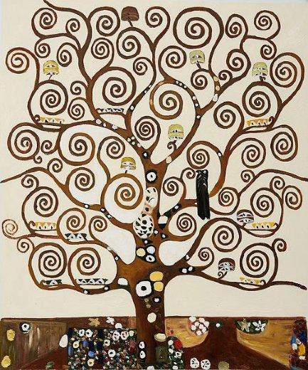 gustav klimt tree of life iii painting - gustav klimt tree of life ...