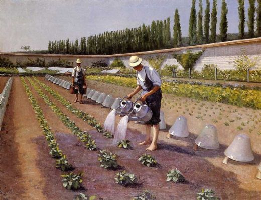 gustave caillebotte the gardeners painting 83623