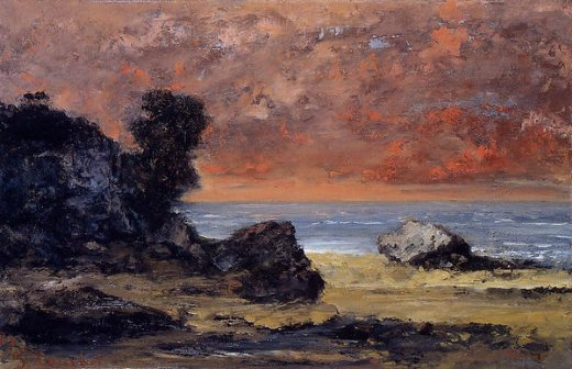 Shopping Gustave Courbet After The Storm Painting
