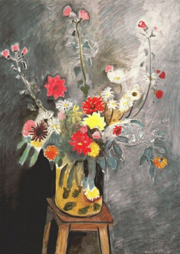 henri matisse bouquet of mixed flowers painting