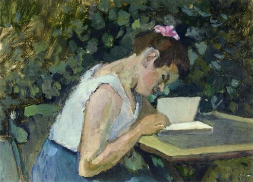 henri matisse woman reading in a garden paintings