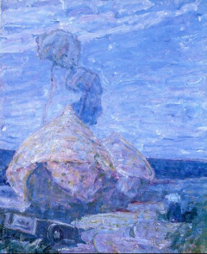 henry ossawa tanner haystacks painting