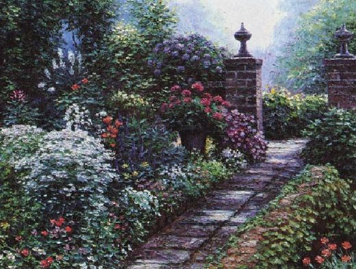 henry peeters fairfax gardens painting