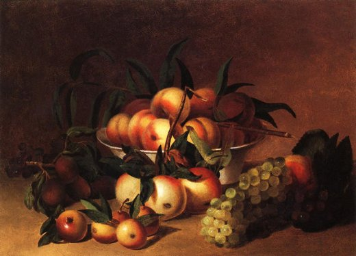james peale still life with fruit paintings