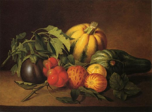 james peale vegetable still life painting