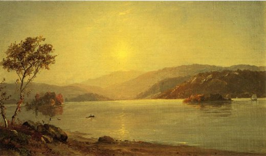 jasper francis cropsey autumn by the lake paintings