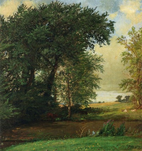 jasper francis cropsey banks of the river paintings