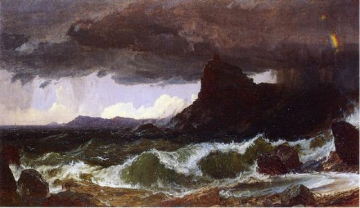 jasper francis cropsey coast of dorset paintings