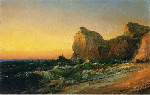 jasper francis cropsey coastal scene ii paintings