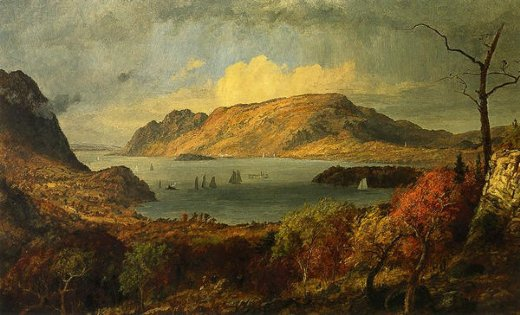 jasper francis cropsey gates of the hudson posters