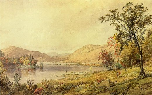 jasper francis cropsey greenwood lake new jersey painting