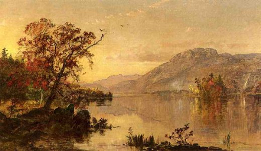 jasper francis cropsey lake george new york painting