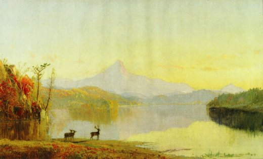 jasper francis cropsey lake near mount chocorua oil painting