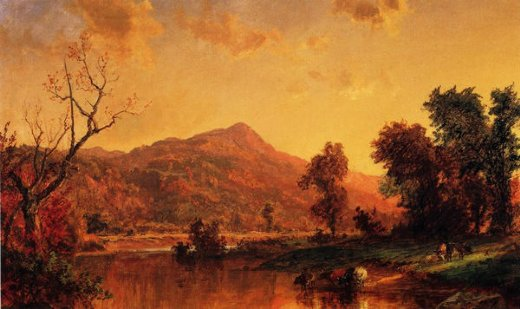 jasper francis cropsey on the susquehanna painting
