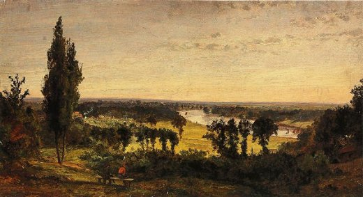 jasper francis cropsey richmond hill and the thames london painting