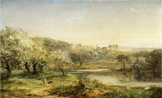 jasper francis cropsey spring chenango valley painting