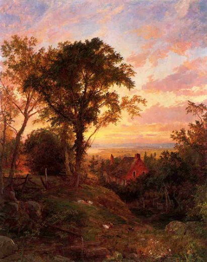 jasper francis cropsey the old home paintings