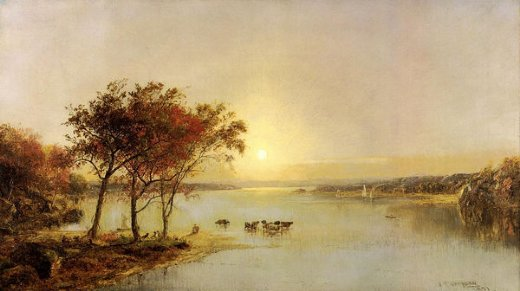 jasper francis cropsey upper hudson painting