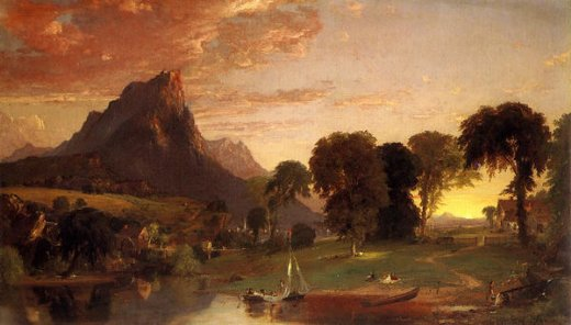 jasper francis cropsey view near sherburne chenango county new york painting