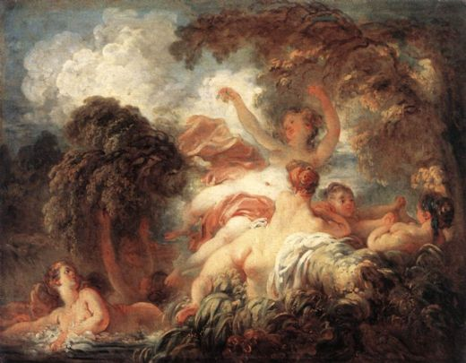 jean-honore fragonard jean honore fragonard the bathers painting