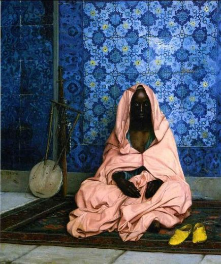 jean leon gerome the black poet painting