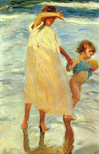 joaquin sorolla y bastida the two sisters paintings