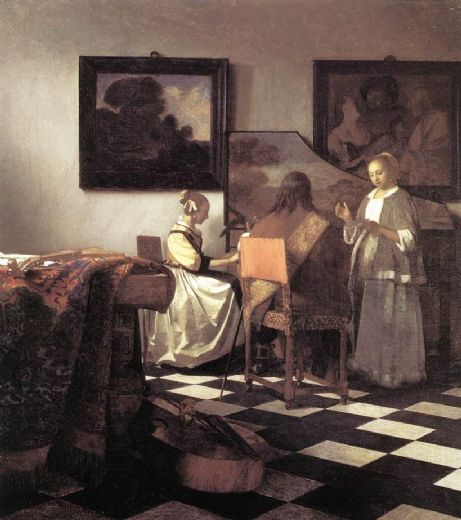 johannes vermeer the concert paintings