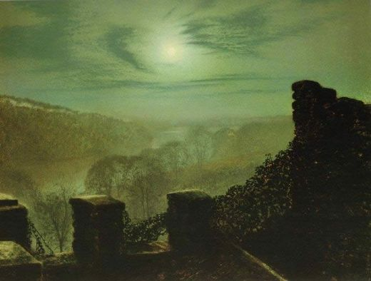 http://www.saleoilpaintings.com/paintings-image/john-atkinson-grimshaw/john-atkinson-grimshaw-full-moon-behind-cirrus-cloud-from-the-roundhay-park-castle-battlements-79051.jpg