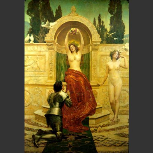 john collier in the venusberg tannhauser painting